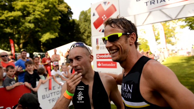 Jenson Button's triathlon training
