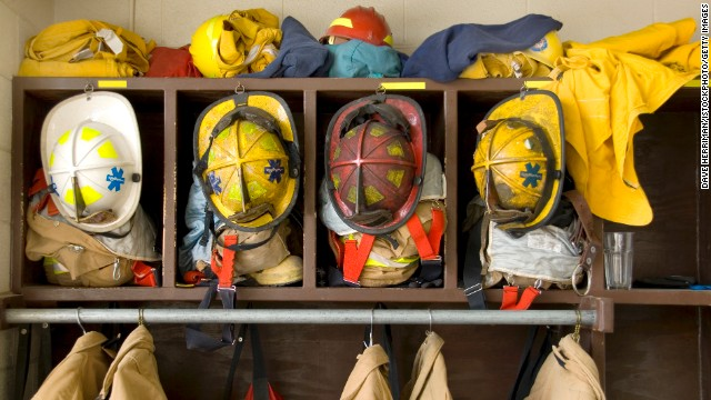 Firefighters deal with high-stress situations and ever-changing sleep patterns.