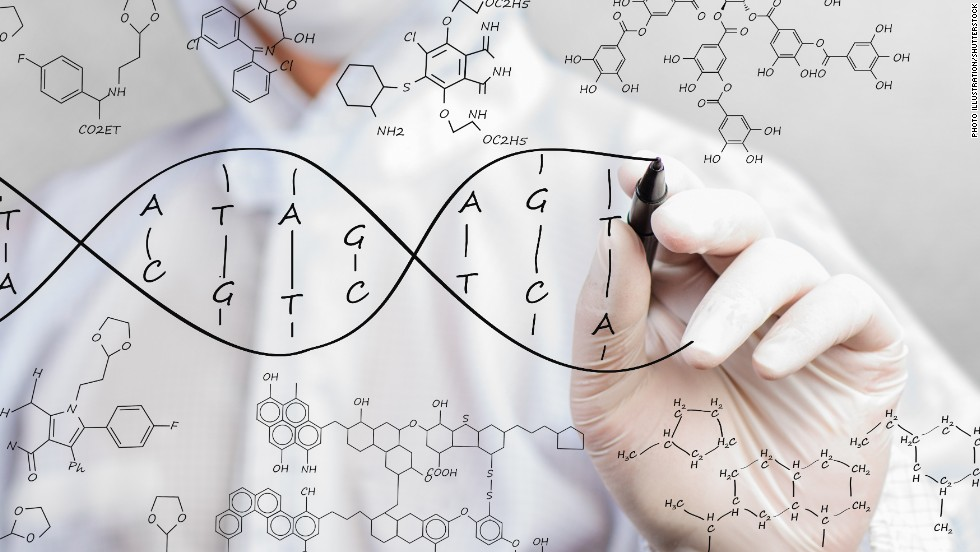 We're genetically linked to our friends