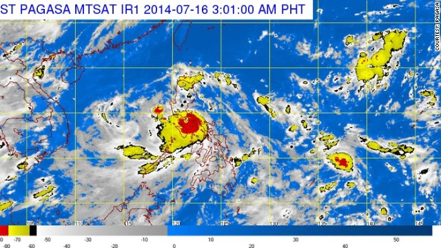 PAGASA weather map
