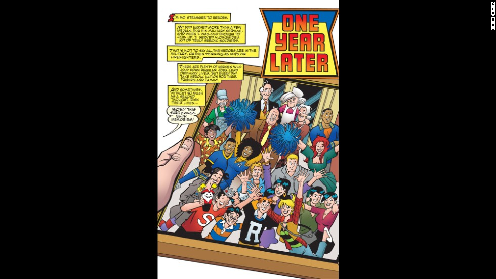 <strong>Exclusive photo: </strong>This issue takes place one year after Archie's death with his friends and loved ones remembering him.