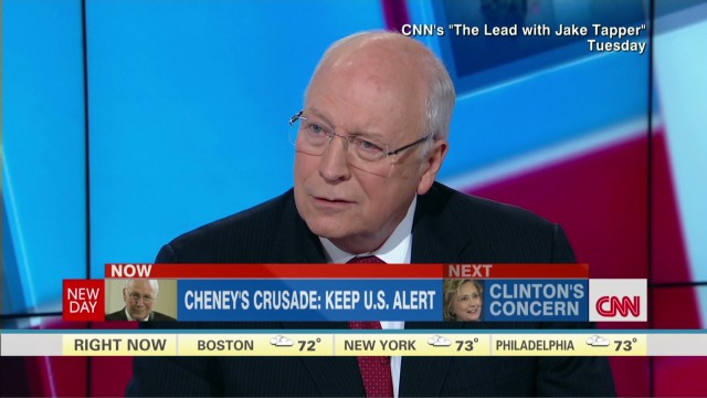 NewDay Inside Politics: Cheney's crusade: Keep U.S. alert_00002420.jpg