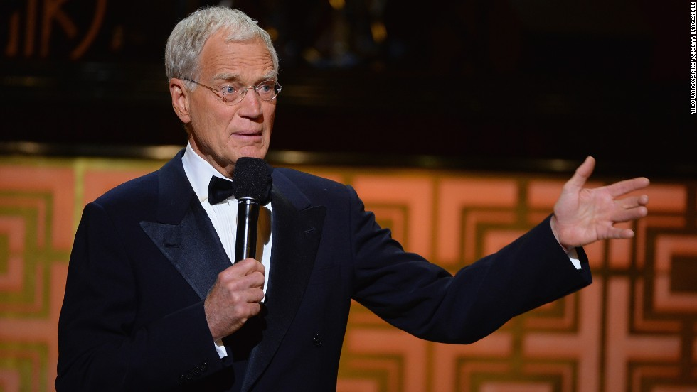 <strong>Worst: </strong>Letterman announces his retirement in April, breaking fans' hearts and upsetting many late-night viewing habits.