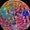 nasa false color moon map