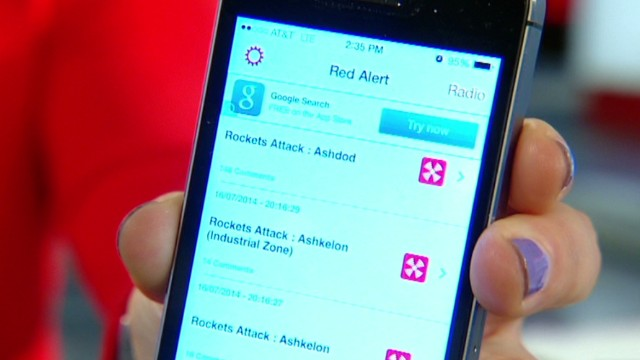 'Red Alert' app warns Israelis of attacks