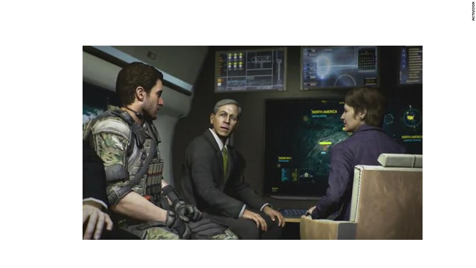 "Like Noriega, former CIA director and four-star Gen. David Petraeus also appears in fictional form in ""Call of Duty: Black Ops II."" The year is 2025, and Petraeus is serving as secretary of defense under President Marion Bosworth. Petraeus was not involved in the making of the game. Things got awkward when a week before the game's release, Petraeus stepped down from the CIA amidst scandal over an extramarital affair."