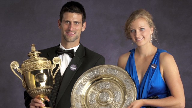 How Novak and Petra conquered Wimbledon