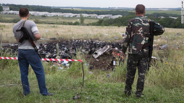 Access to MH17 crash site limited