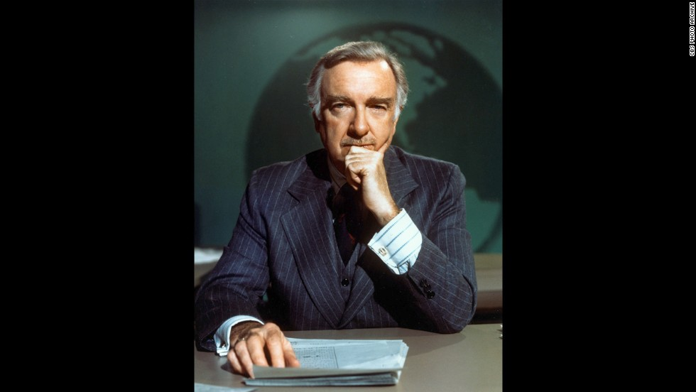 """CBS Evening News"" anchor Walter Cronkite was voted ""the most trusted and objective newscaster on television"" in 1974 in a national opinion poll. As anchor of the ""Evening News"" from 1962 to 1981, ""Uncle Walter"" was the face of network, bringing Americans some of the biggest news events of the latter half of 20th century."