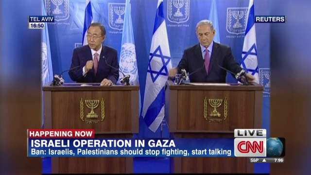 Ban Ki-moon to Israel: Exercise restraint