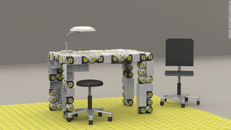 module furniture. u0026quotroombotsu0026quot is a research project that creating modular robots can be module furniture d