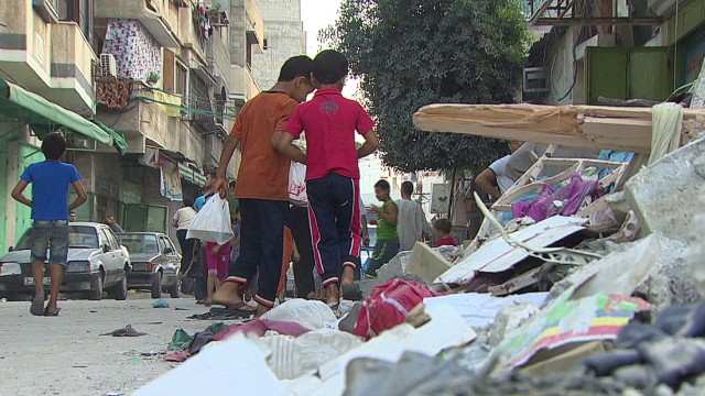 Gazans carry on despite years of war