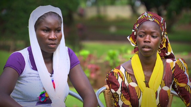 Escaped Nigerian schoolgirls speak out