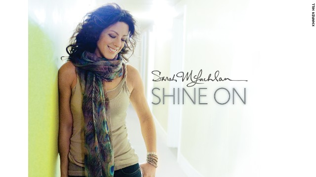 """Shine On"" is Sarah McLachlan's 7th full-length solo album."