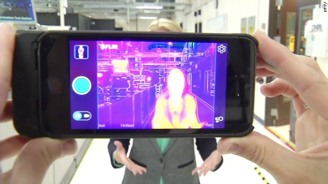 See Through Walls On Your Iphone Cnn Video