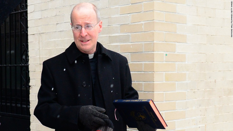 "The Rev. James Martin, a prolific author and media commentator, is also the ""official chaplain"" of Comedy Central's ""Colbert Report."""