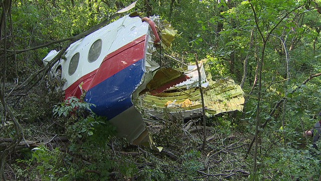 MH17's quiet, abandoned crash site