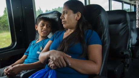 Fourteen-year-old Jesús and his mother, Angelica, will travel through 10 cities and six states to reunite with the boy's father. Their family has been separated for more than 12 years.