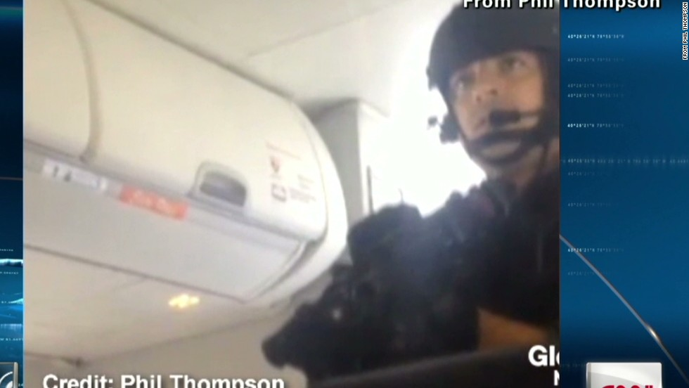 Passenger captures dramatic video of SWAT team storming Toronto plane