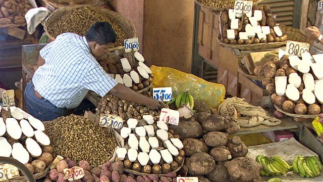 Fresh produce in Mauritius