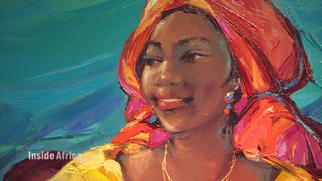 Kinshasa's thriving art scene