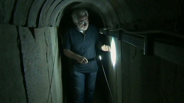 Exclusive look inside Hamas tunnels