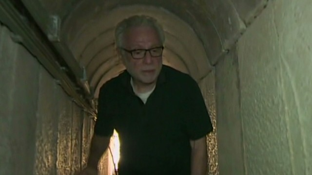 Wolf Blitzer goes inside a Hamas tunnel