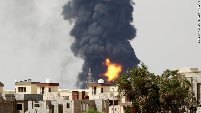 Fighting in Libya intensifies