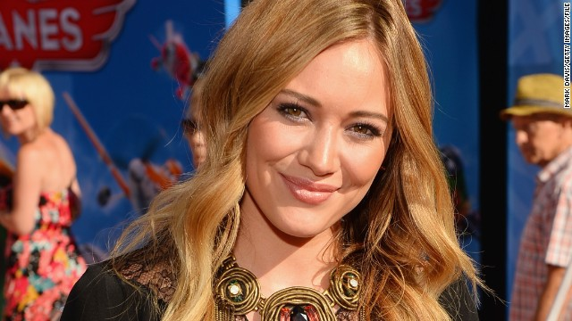 "Hilary Duff played the title role in ""Lizzie McGuire."""