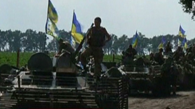 U.S.: Ukraine firing missiles at rebels