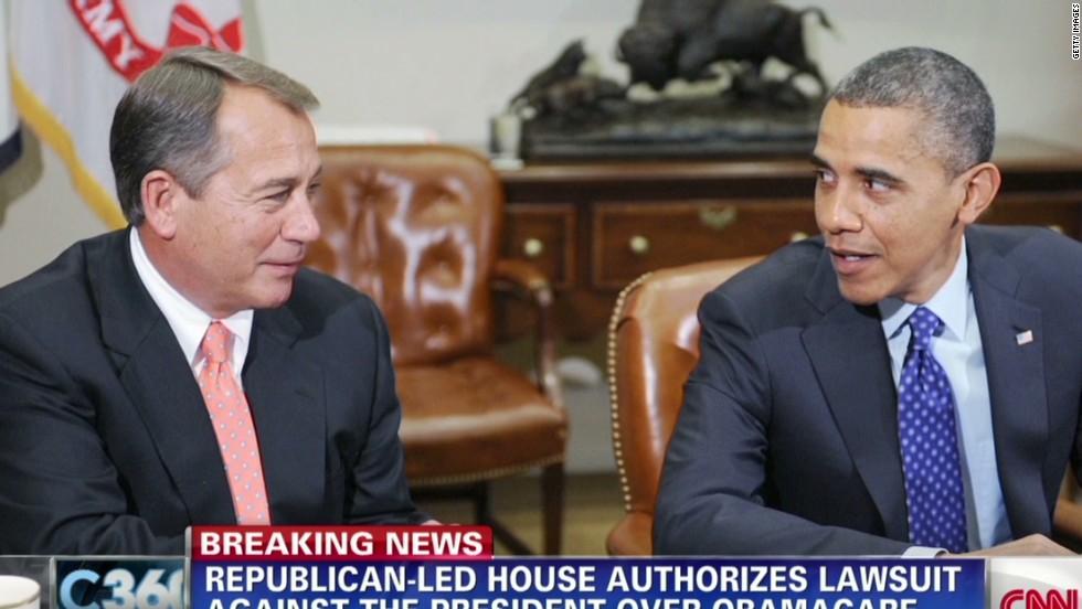 GOP-led House authorizes lawsuit against Obama