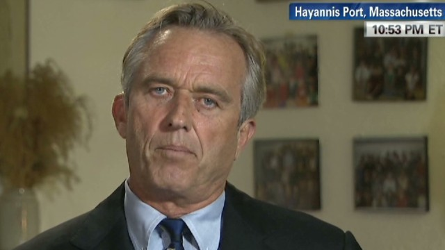 RFK jr. on '68: 'An idealistic time""