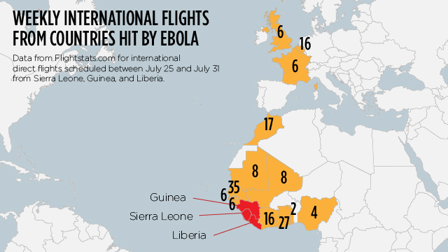 What is the risk of catching Ebola on a plane?   CNN Travel