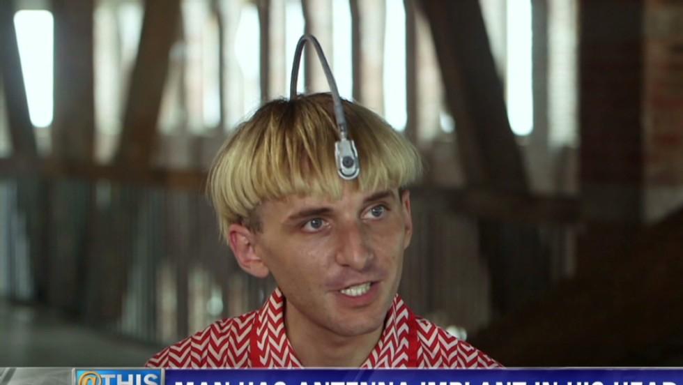 Man 'hears' colors, claims he's a cyborg  - CNN Video