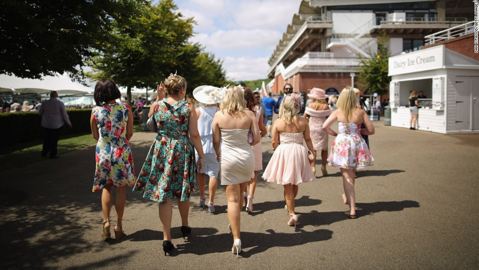 """It's more relaxed than other British racing events such as Royal Ascot,"" adds Cumani. ""But it's equally as fashionable -- you'll see the men in panama hats and women in vintage, floaty dresses."""