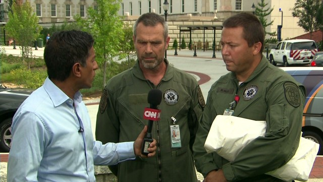 Ebola transport team speaks to CNN