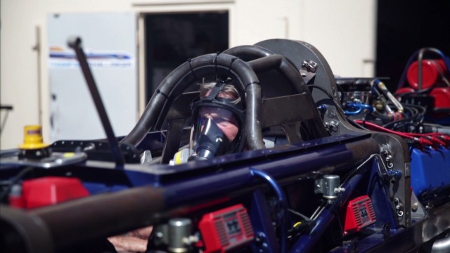 Danny Thompson hopes to go for the speed record at the Bonneville Salt Flats.