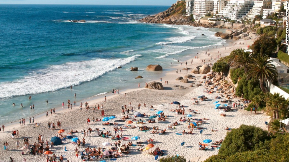 Cape Town, South Africa's Clifton Beaches are popular with locals and visitors. (Editor's note -- an earlier version of this gallery incorrectly identified a photo of nearby Camps Bay as Clifton Beaches. The error has been corrected.)