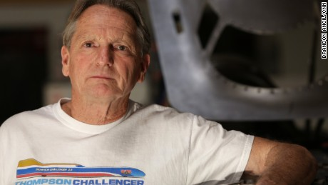 Danny Thompson is trying to become the fastest driver of a piston engine car, just like his dad, Mickey Thompson.