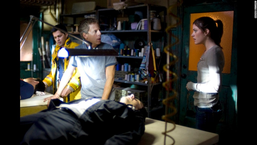 "A small TV crew gets trapped in a quarantined area after an unknown infection is discovered in the 2008 movie ""Quarantine."" An intentional introduction of a mutated rabies virus is behind the outbreak and turns the infected into violent killers."