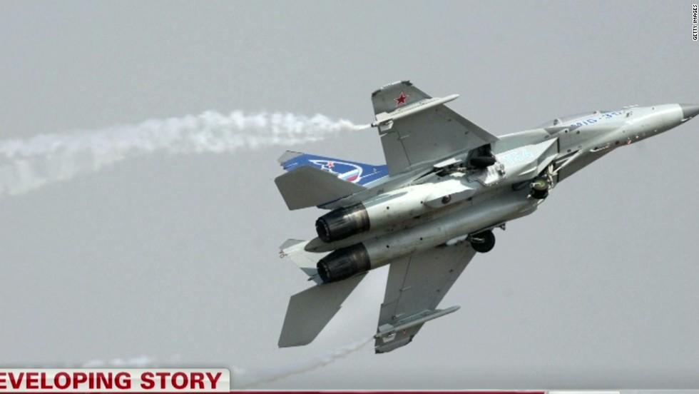 U.S. official: Spy plane flees Russian jet, radar; ends up over Sweden