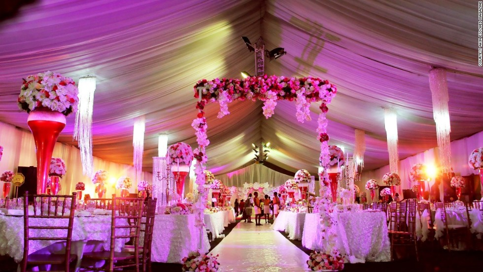 Wedding Venues What You Need For A Large Wedding: Nigerian Weddings: A Peek Inside The Million Dollar