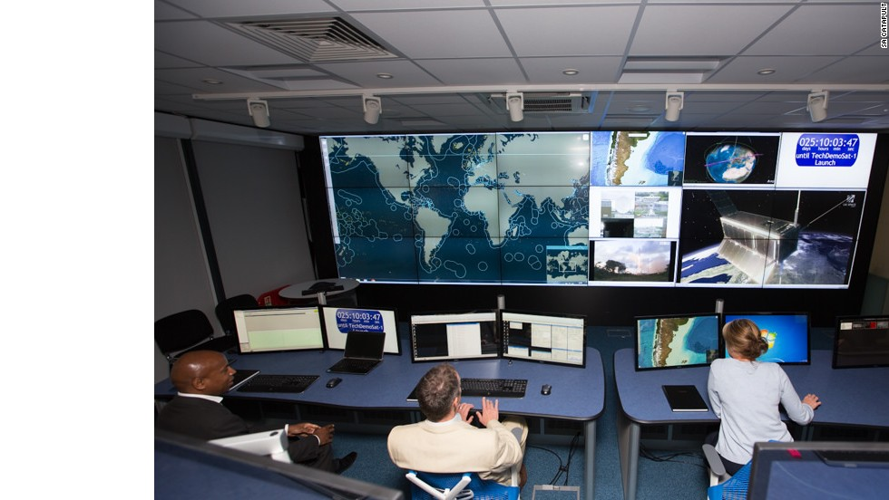 The SA catapult command and communication center in Oxford, UK