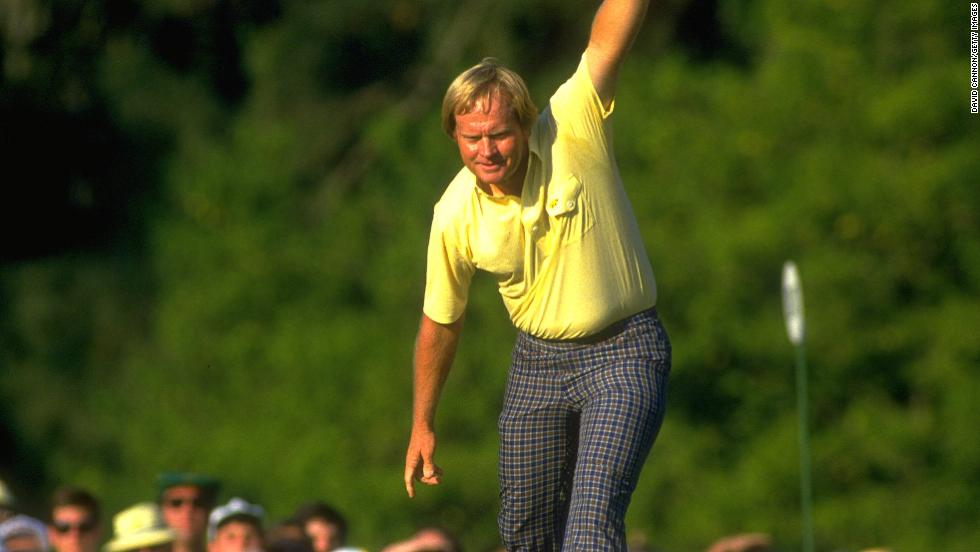 "This picture captures an iconic moment in Jack Nicklaus' career -- the putt on the 17th green during the final round of the 1986 Masters that effectively sealed the last of his 18 major wins. <br /><br />Cannon had been following the leader Ballesteros, who was on the nearby 15th hole. <br /><br />Once he realized Nicklaus could win, however, he decided to hop across to the 17th to follow him through the final two holes, suspecting something special was about to happen. <br /><br />""This was one of those decisions that was a combination of luck and, I suppose, knowledge of the game,"" Cannon explains."