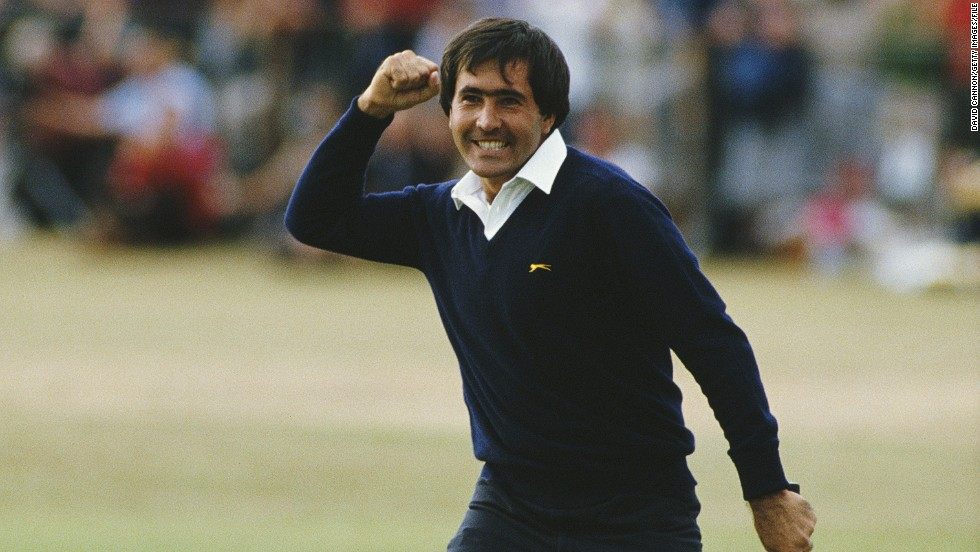 "Seve Ballesteros holes his final putt to win the 1984 British Open on the Old Course at St. Andrews, Scotland. <br /><br />""If I had to choose a moment in my 100 majors that still sends shivers down my spine, every time I look at the picture, this would be it,"" Cannon reflects. ""The roar of the crowd went on and on.<br /><br />""The British crowds and I adored Seve,"" Cannon says of the Spaniard, who won five majors before his death from brain cancer in May 2011. ""He was, for sure, the catalyst for the growth of European golf and all that we have witnessed in the past 30 years.<br /><br />""I miss him every day, and to think this moment was captured 30 years ago this year -- it just seems like yesterday."""
