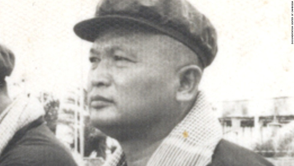 Historical, undated photo of Nuon Chea. He held a number of positions during the regime's rule, including a short stint as acting prime minister.