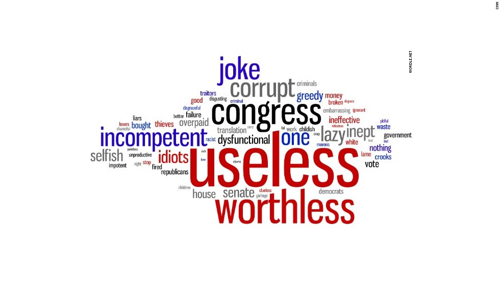 #CongressInOneWord - CNN Video