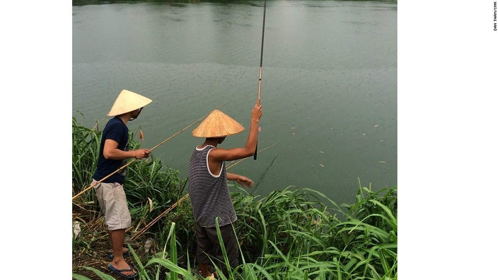 "The Perfume River in Hue, Vietnam, is special to CNN's Dan Tham because his mother and grandparents were born there. He visited Vietnam in June and was ""naturally drawn to the river, its beauty and colors,"" he said. ""I would watch the boats drift down the river that <a href=""http://ireport.cnn.com/docs/DOC-1159064"">Huetians</a> seem to treat with great reverence."""