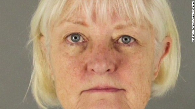 Marilyn Jean Hartman, 62, was re-arrested at the Los Angeles airport on Thursday.