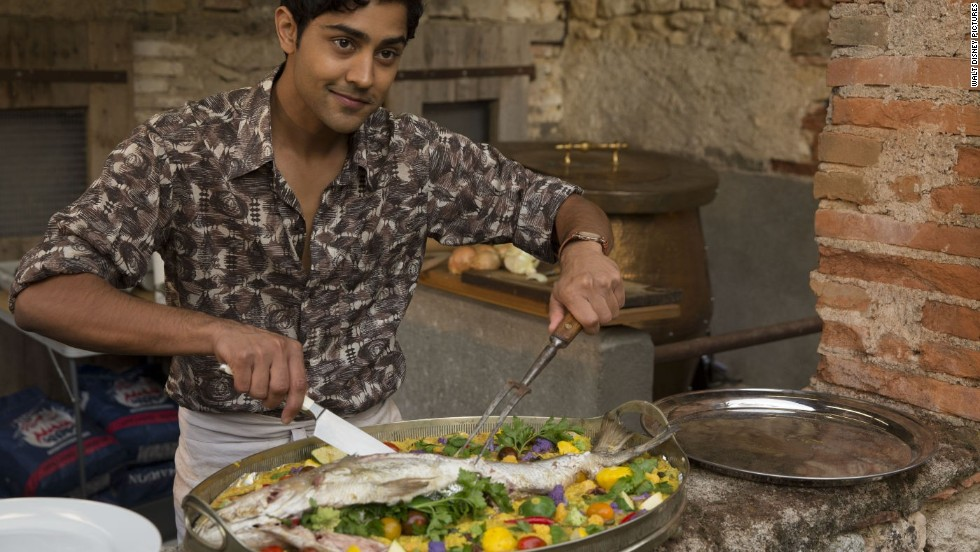 "<strong>""The Hundred-Foot Journey"" (2014): </strong>Manish Dayal stars as Hassan Kadam, a young aspiring chef whose family restaurant is in direct competition with a nearby famed French eatery."